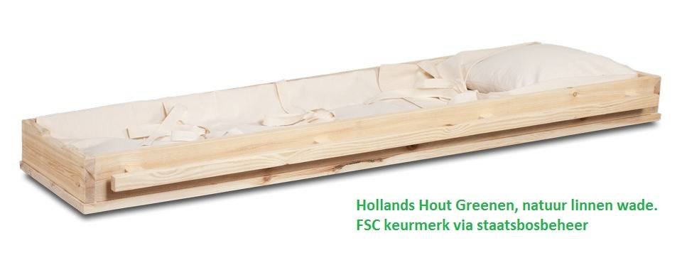 Opbaarplank -Hollands hout